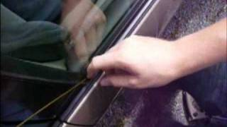 How To Unlock A Car Door With An Hanger !!