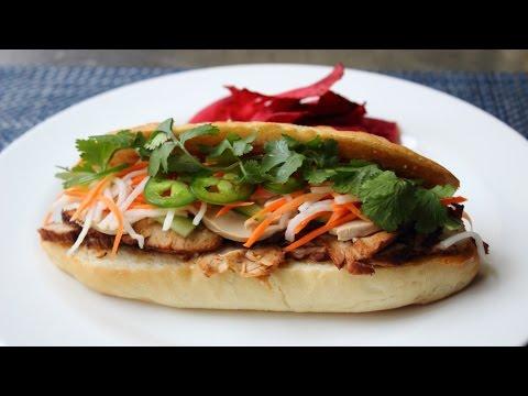 Banh Mi Sandwich – How to Make a Bánh Mì Vietnamese-Style Sandwich