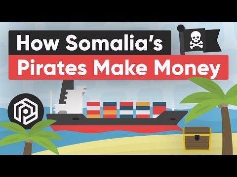 Jak somálští piráti vydělávají peníze?