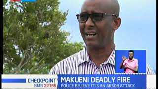 4 dead in Makueni arson attack