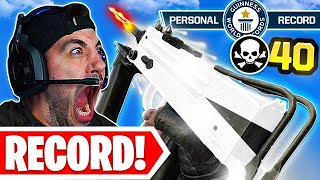 My NEW Kill RECORD in Warzone! 😯 INSANE 40 KILL GAME!