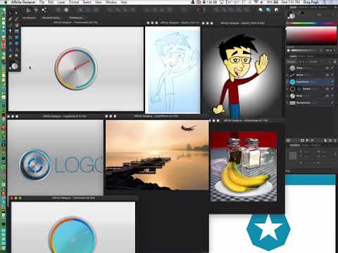 How to Use Affinity Designer, Affinity Designer Course for Beginners ...