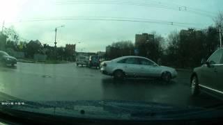 Kas vyksta Kaune skaitytojas užfiksavo eismo įvykio momentą Kovo 11-osios gatveje