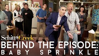 Baby Sprinkle | Behind The Episode | Schitts Creek