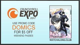Watchalong + Crunchyroll Expo