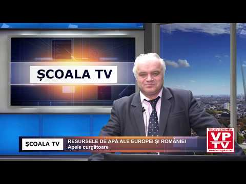RESURSELE DE APĂ ALE EUROPEI ŞI ROMÂNIEI – Apele curgătoare