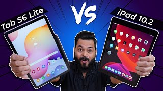 Samsung Galaxy Tab S6 Lite vs Apple iPad 10.2 Full Comparison ⚡⚡⚡ And The Best Tablet Under 30K Is..