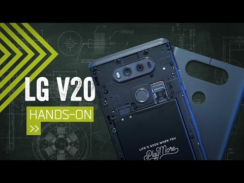 LG V20 Hands On: The Phone For A/V Geeks