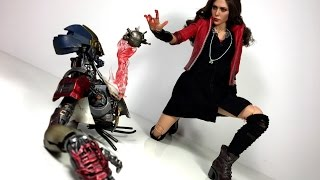 Hot Toys Avengers Age of Ultron Scarlet Witch Sideshow Collectibles Toy Review