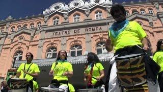 preview picture of video 'BATUCADA TROPA LO TROP 2013® MURCIA. Con el mejor grupo sardinero'