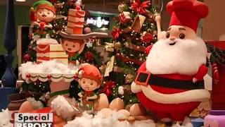 Sejumlah Karyawan Muslim Masih Memakai Atribut Natal Di Pusat Perbelanjaan  Special Report 22/12