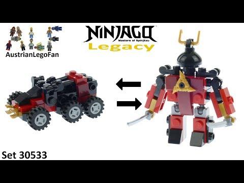 Vidéo LEGO Ninjago 30533 : Sam-X (Polybag)