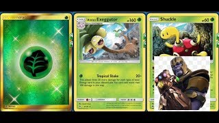 Alolan EXEGGUTOR Deck / Best Value Non GX / New Lost Thunder Shuckles