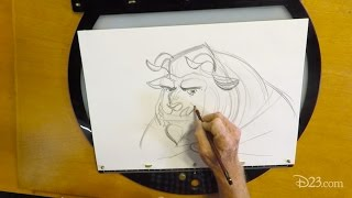 Drawing With D23: Beast
