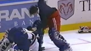 Rangers Vs Islanders Apr 4, 1998