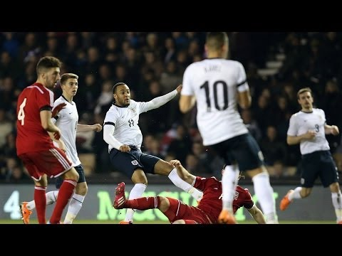 SLOMO:CAM The best of England U21s' 1-0 win vs Wales in slow motion