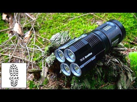 """Handlampe """"TM26"""" von NiteCore"""
