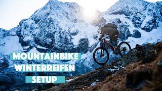 Mountainbike Winterreifen Setup: worauf muss ich bei kalten Temperaturen achten?