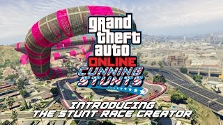 GTA Online: Stunt Race Creator Available Now - with Trailer