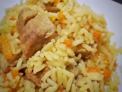 ♨Kochen im Multikocher♨Plov - schneller Reistopf