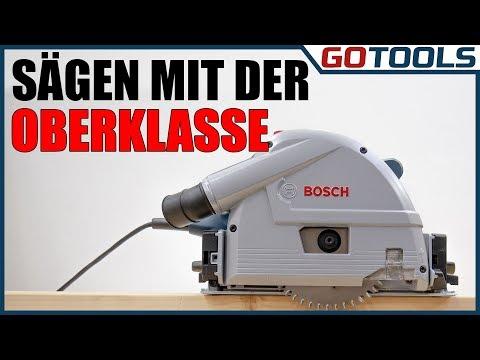 Bosch Tauchsäge GKT 55 GCE Test - bequem und hoch präzise! Sämtliche Funktionen erklärt