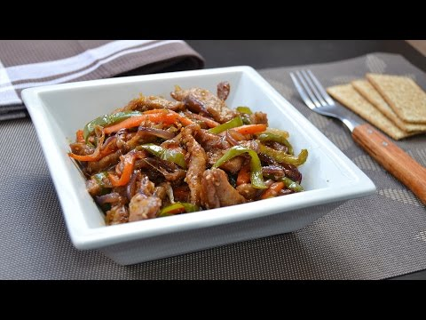 Stir-Fried Beef with Vegetables – Easy Beef & Vegetable Stir-Fry Recipe