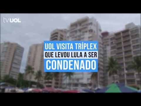 UOL VISITA TRÍPLEX NO GUARUJÁ QUE LEVOU LULA A SER CONDENADO