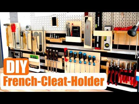 French Cleat Holder - Günstige Werkzeug Halter selber bauen -