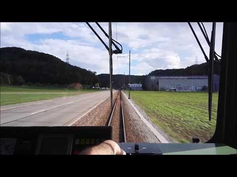 Waldenburgerbahn (WB) AG von Liestal bis Waldenburg