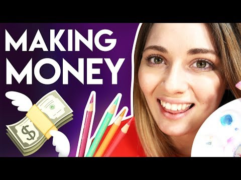 How to Make BIG MONEY as an ARTIST – 3 Ways to Make Money