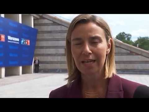 Mogherini at the Nato summit in Warsaw - heralds closer EU-NATO cooperation