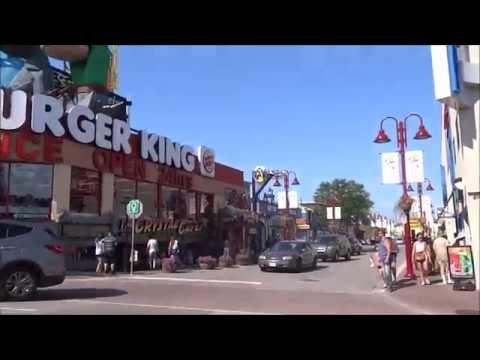 Niagara Falls - Canadian side tour