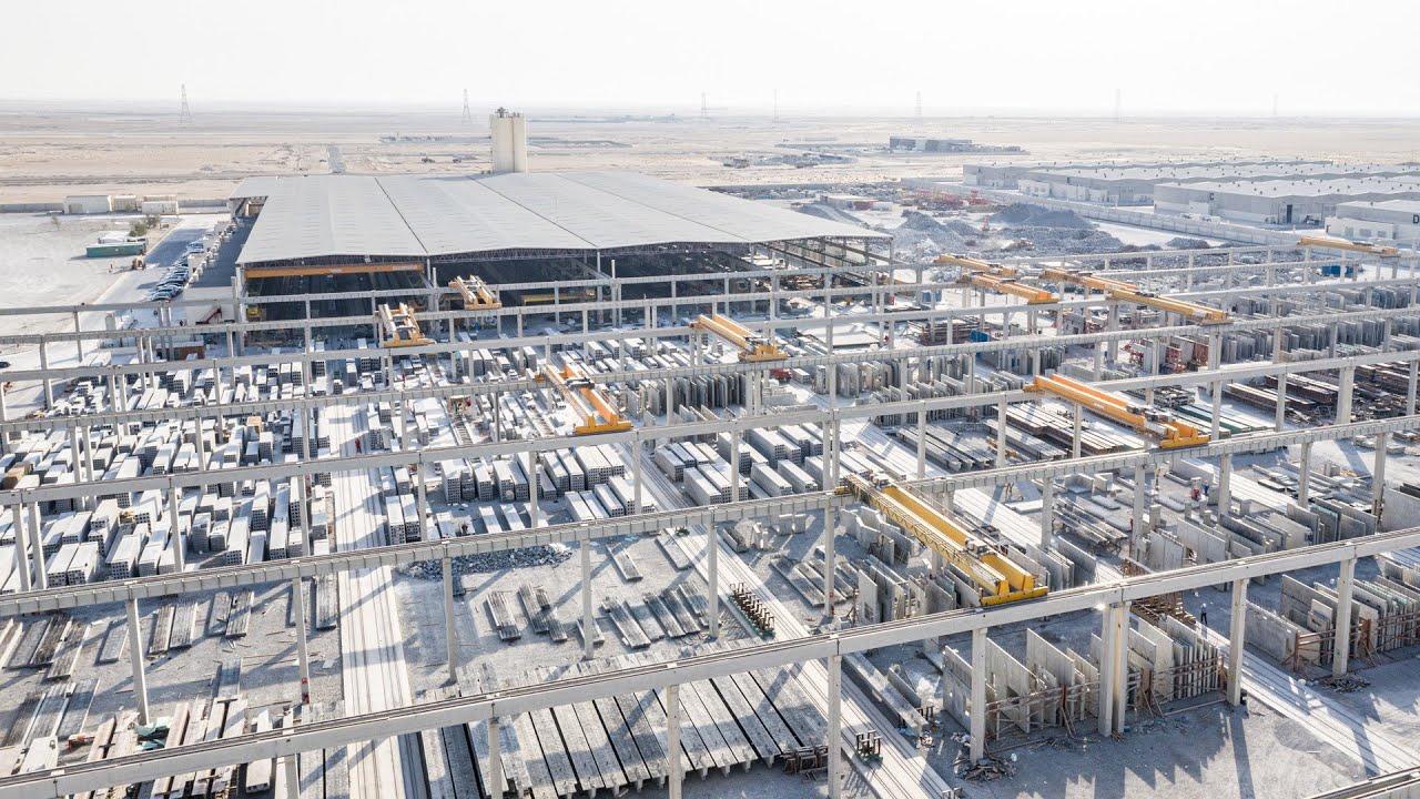 Elematic reference: United Precast Concrete, UAE
