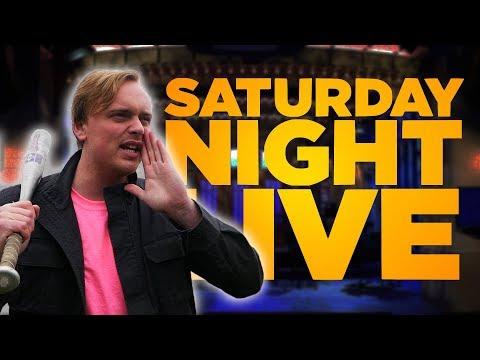 Did SNL steal Gus Johnson's idea?