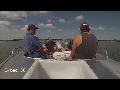 Evinrude E-TEC 30 HP (E30DTSL) in Memphis, Tennessee - Video 1