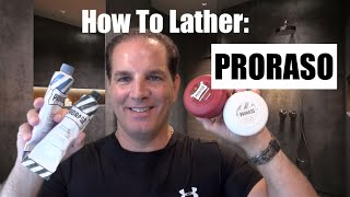 How to Lather Proraso Shaving Cream and Shave Soap