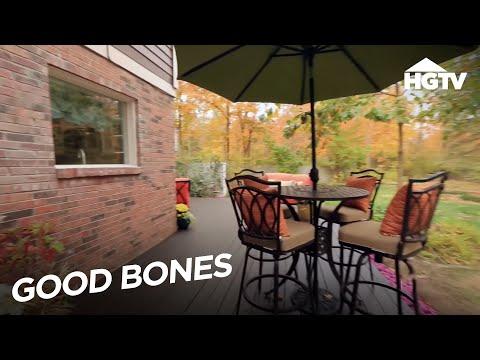 Outdoor Living Space Tips - Good Bones - HGTV
