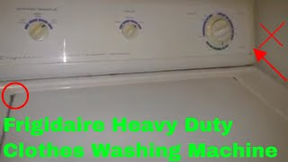 ✅  How To Use Frigidaire Heavy Duty Clothes Washing Machine Review