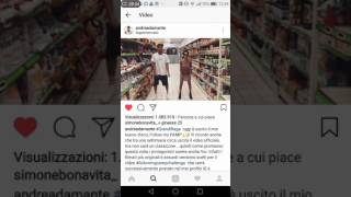 Andrea Damante e Giulia dellellis ballano 'FOLLOW MY PAMP'