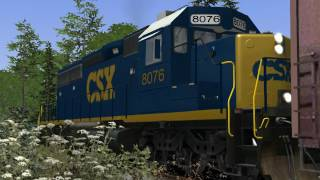 TS2017: CSX Local On The MSCRR