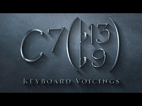 Keyboard Voicings: C7(b13,b9)