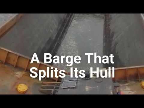 Ship That Split in Half : Split Hopper Barge