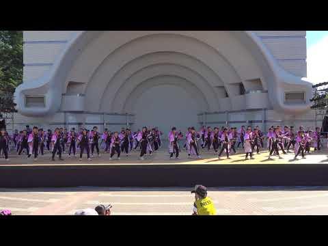 桐蔭学園小学校 鉄〜KOROGANE〜2・代々木公園ステージ−スーパーよさこい2018