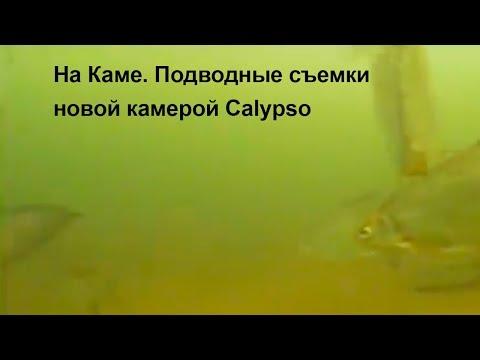 На Каме. Подводные съемки новой камерой Calypso