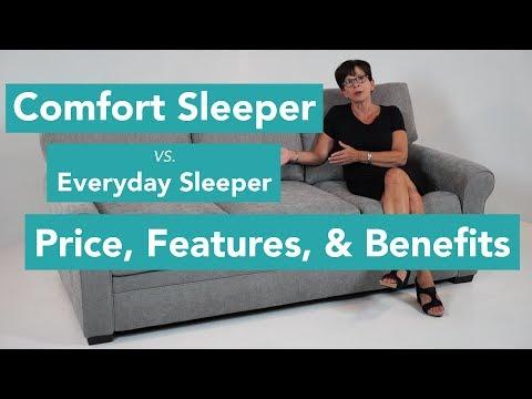 Comfort Sleeper vs. Everyday Sleeper: Price, Features, and Benefits