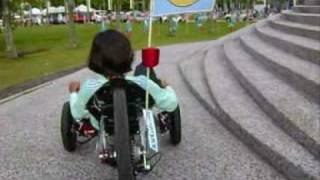 preview picture of video 'Fatin KMX Karting at Staduim Shah Alam'