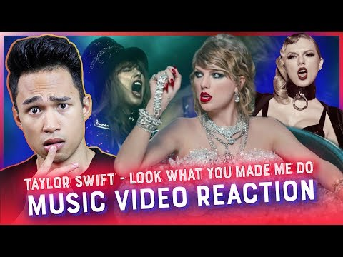 TAYLOR SWIFT - LOOK WHAT YOU MADE ME DO Music Video REACTION // Reactions With Red Guy
