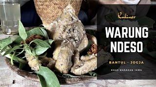 Kuliner Jogja Ingkung Warung Ndeso