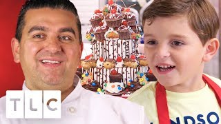 Carlo Helps Buddy Make An Amazing Birthday Cake!   Cake Boss
