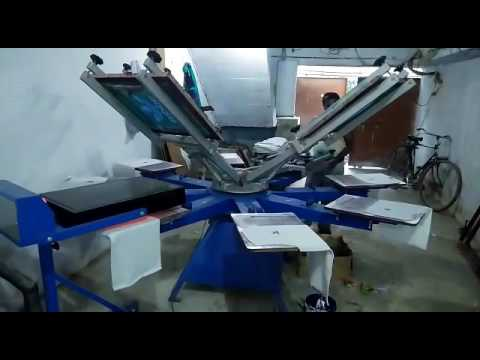 TShirt Screen Printer Machine